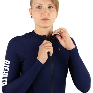 Biehler Thermal Rain LS Jersey Women, night blue night blue