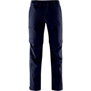 Maier Sports Tajo Pantalon convertible avec fermeture éclair Homme, bleu bleu