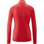 Maier Sports Ines Microfleece Jacke Damen tango red
