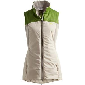 VAUDE Green Core Insulation Vest Women, valkoinen/vihreä valkoinen/vihreä