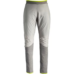 VAUDE Green Core Fleece Pants Women, blanc/gris blanc/gris