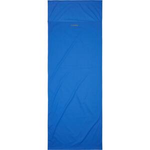 CAMPZ Egyptian Cotton Sleeping Bag Liner Envelope, bleu bleu