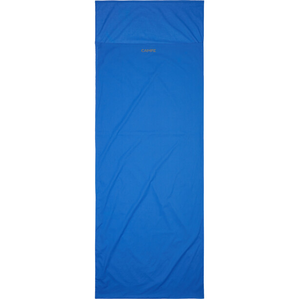 CAMPZ Egyptian Cotton Sleeping Bag Liner Envelope, sininen