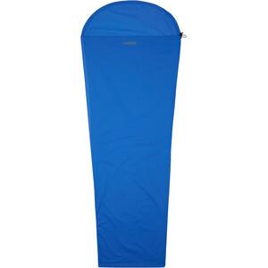 CAMPZ Egyptian Cotton Innenschlafsack Mummy blue blue