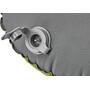 CAMPZ Rectangular Luftkissen applegreen/grey