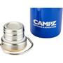 CAMPZ Flasche mit Bambus Deckel 750ml blue