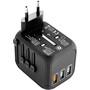 CAMPZ Universal Reise Adapter black