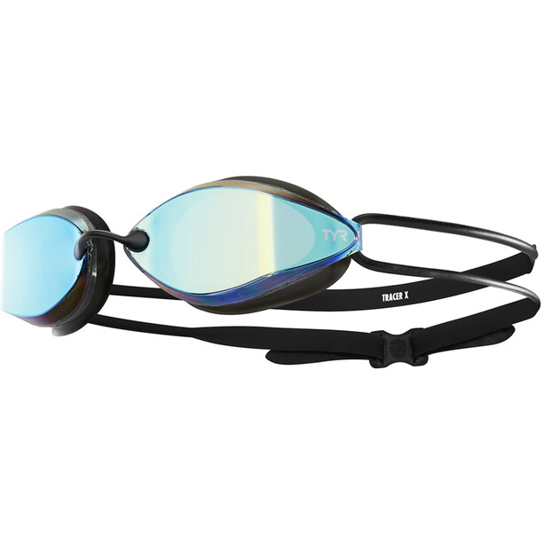 TYR Tracer X-Racing Mirrored Brille Nano Fit gold/black/black