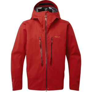 Rab Khroma Kinetic Jacke Herren ascent red ascent red