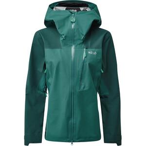 Rab Ladakh GTX Jacket Women, verde verde