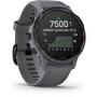 Garmin Fenix 6S Pro Solar GPS Smartwatch dark grey/purple
