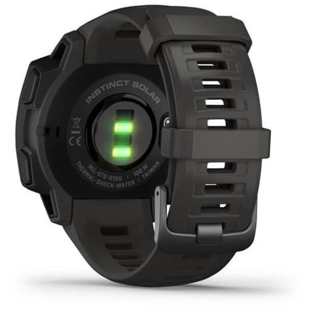 Garmin Instinct Solar GPS Smartwatch slate grey