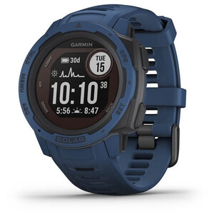 Garmin Instinct Solar GPS Smartwatch deep blue deep blue