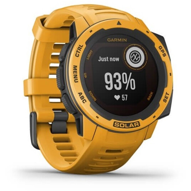 Garmin Instinct Solar GPS Smartwatch yellow