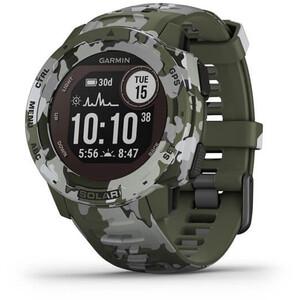Garmin Instinct Solar Camo GPS Smartwatch oliv oliv