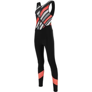 Santini Coral Raggio Trägerhose Damen schwarz schwarz