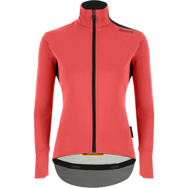 Santini Vega Xtreme Cut Winter Jacket Women, rouge