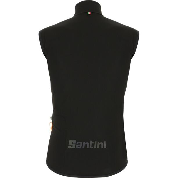 Santini Guard Nimbus Regendichte Weste Herren schwarz