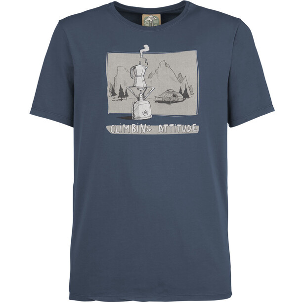 E9 Caffè T-Shirt Men bluenavy