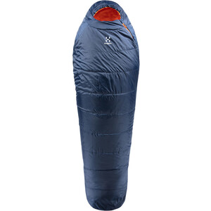 Haglöfs Tarius +1 Sleeping Bag 205cm midnight blue/tangerine midnight blue/tangerine