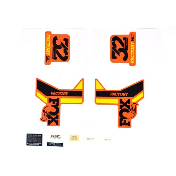 Fox Racing Shox Dekalsæt til 32 SC FS, orange