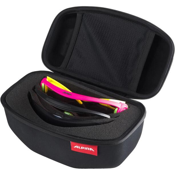 Alpina 5W1NG Q+CM Brille gelb/pink