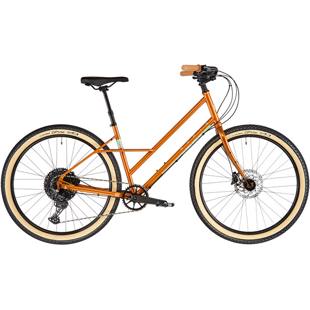 Marin Larkspur 2 Mixte gloss copper/turquoise