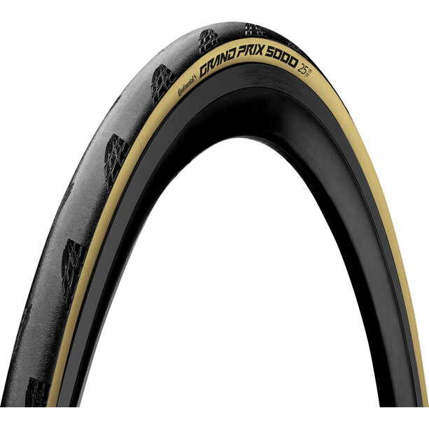 "Continental GrandPrix 5000 Tour De France LTD Faltreifen 28x1.00"" black/cream skin"