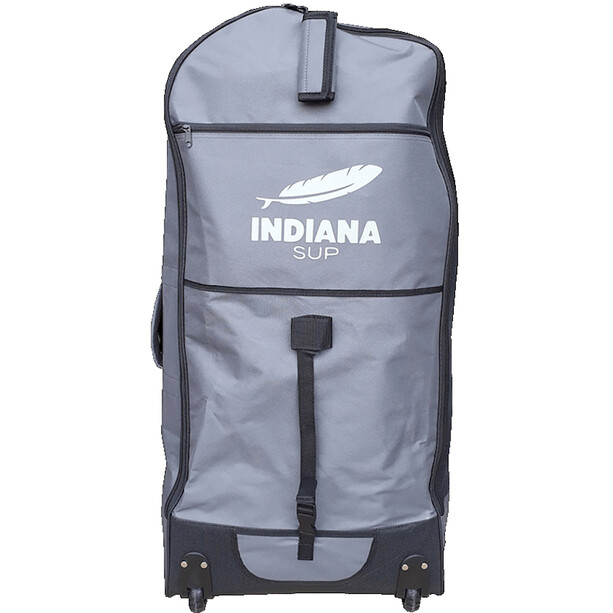 Indiana SUP 12'0 Family Pack mit 3-teiligem Fiberglas/Composite Paddel blue