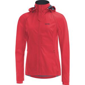 GORE WEAR R3 Gore Windstopper Zip-Off Jacket Women, rouge rouge
