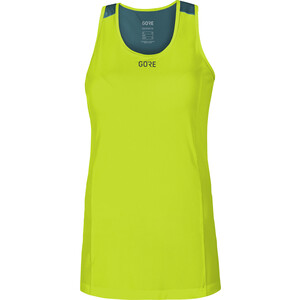 GORE WEAR R7 Ärmelloses Top Damen citrus green/dark nordic blue citrus green/dark nordic blue