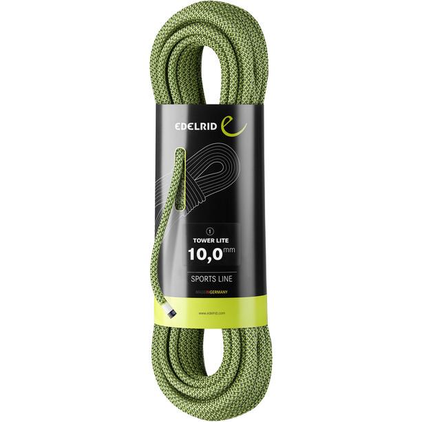 Edelrid Tower Lite Rope 10,0mm x 50m grön