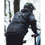 Loose Riders Wasserfeste Jacke Herren schwarz
