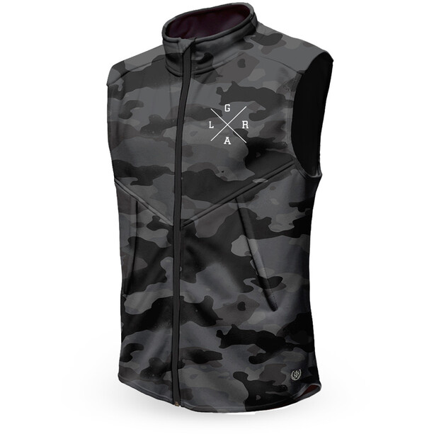 Loose Riders Technical Weste Herren charcoal camo