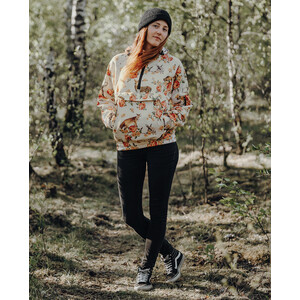 Loose Riders Fleece Anorak Women forest animals forest animals