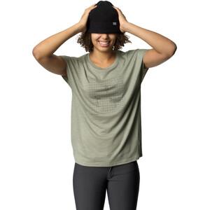 Houdini Activist Message T-Shirt Damen in between green in between green