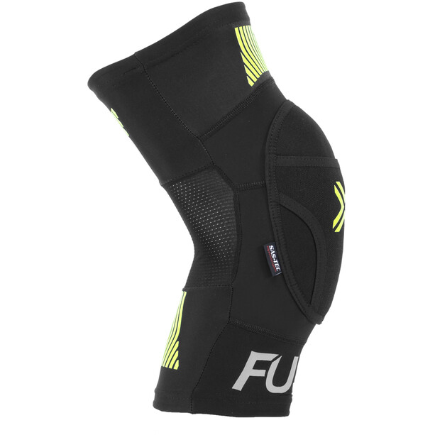 FUSE Omega Knie Pads black/neon yellow