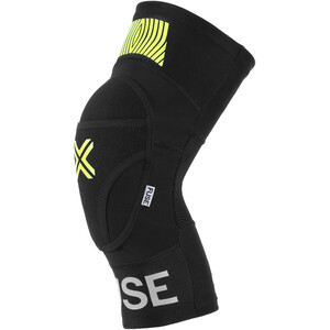 FUSE Omega Knie Pads black/neon yellow black/neon yellow