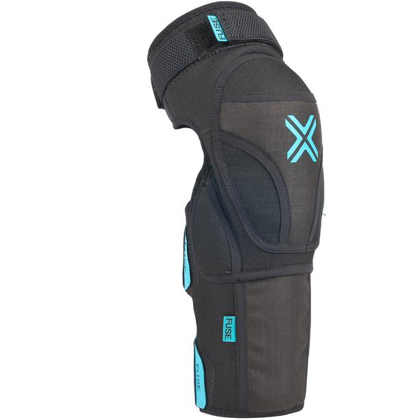 FUSE Echo 75 Knee/Shin Pads, noir/bleu