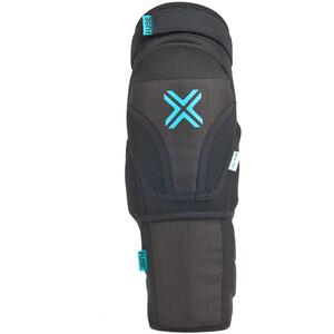 FUSE Echo 75 Knee/Shin Pads, negro/azul negro/azul
