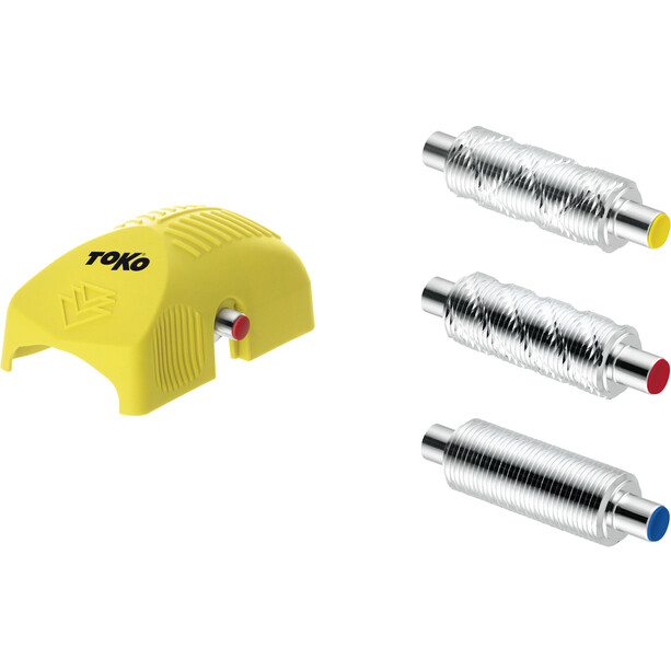 Toko Structurite Nordic Kit with Rollers yellow/red/blue