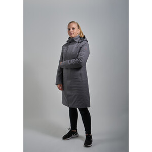 Y by Nordisk Tana Elegant Down Insulated Coat Women, smoke/blck smoke/blck