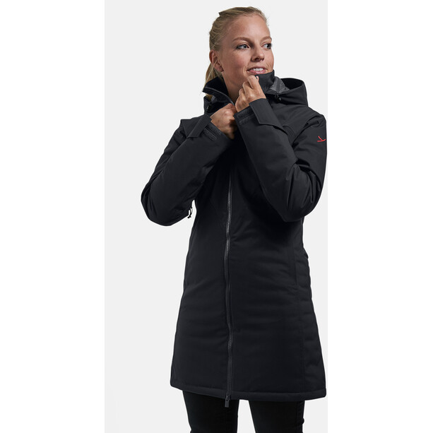 Y by Nordisk Raa Hardshell Daunenmantel Damen black