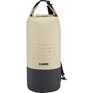CAMPZ Cylinder Dry Bag 35l beige/black beige/black