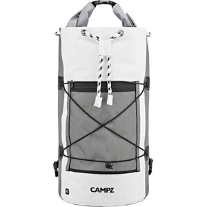 CAMPZ Watersports Dry Pack 45l, white/grey white/grey