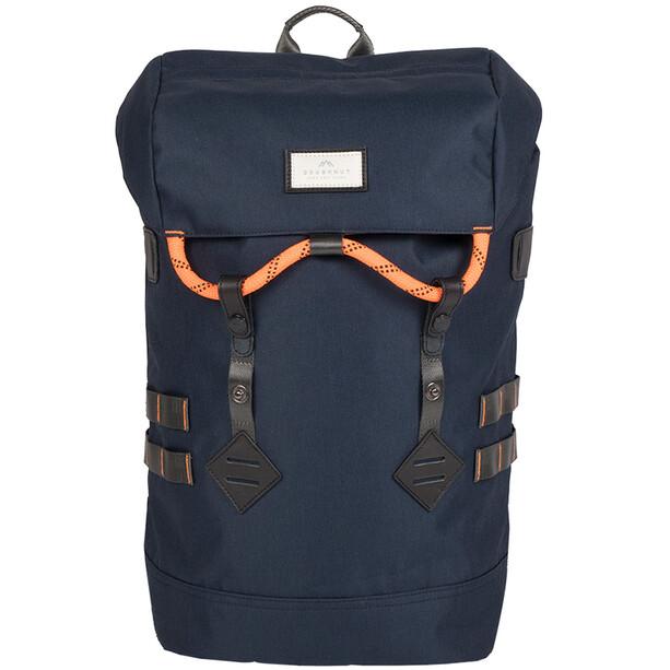 Doughnut Colorado Backpack Accent Series 21l navy/orange