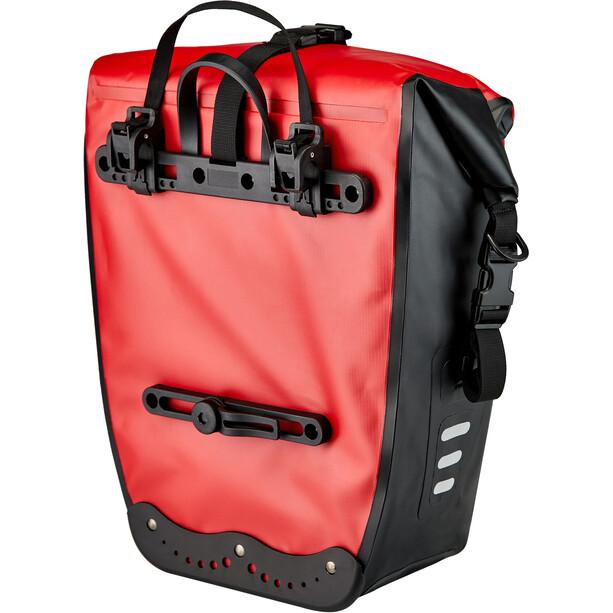 Red Cycling Products 27l Waterproof Gepäckträgertasche rot/schwarz