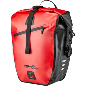 Red Cycling Products 27l Waterproof Gepäckträgertasche rot/schwarz rot/schwarz