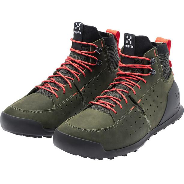 Haglöfs Duality AT1 GT Shoes Men deep woods/habanero