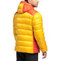Haglöfs Mojo Down Hood Jacket Men pumpkin yellow/habanero